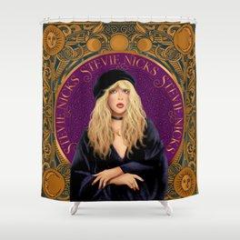 Stevie Nicks Tarot The High Priestess Shower Curtain
