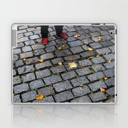 Red Shoes and Stumbling Stone Laptop & iPad Skin