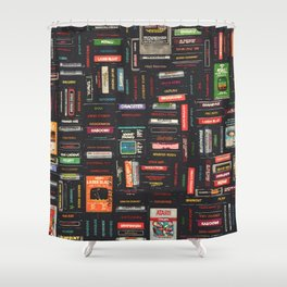 Games Shower Curtain