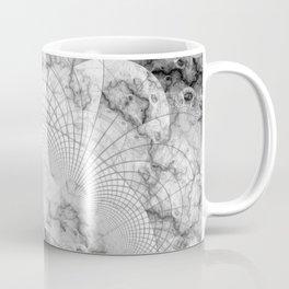 Foliated Marble as a Geometric Map of the Universe Coffee Mug