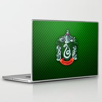 slytherin Laptop & iPad Skins featuring SLYTHERIN  by Smart Friend