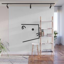 Minimalist Otter Wall Mural