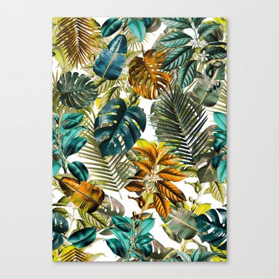 Tropical Garden IV Canvas Print