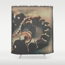 Jewelery Shower Curtain