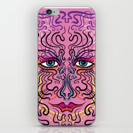 The Pink Lady iPhone Skin