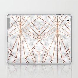 Art Deco Marble & Copper - Large Scale Laptop & iPad Skin