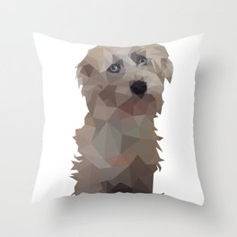 Hobo Teddy Bear Throw Pillow