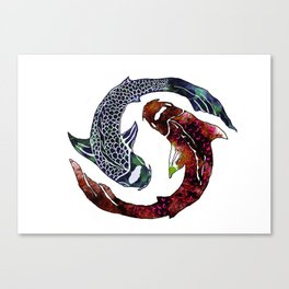 Yin Yang Part 2 Canvas Print