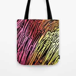 Abstract Mountains Tote Bag
