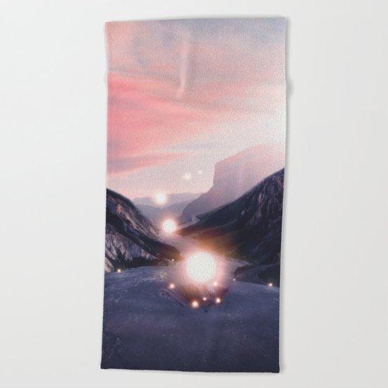 Energy. Beach Towel