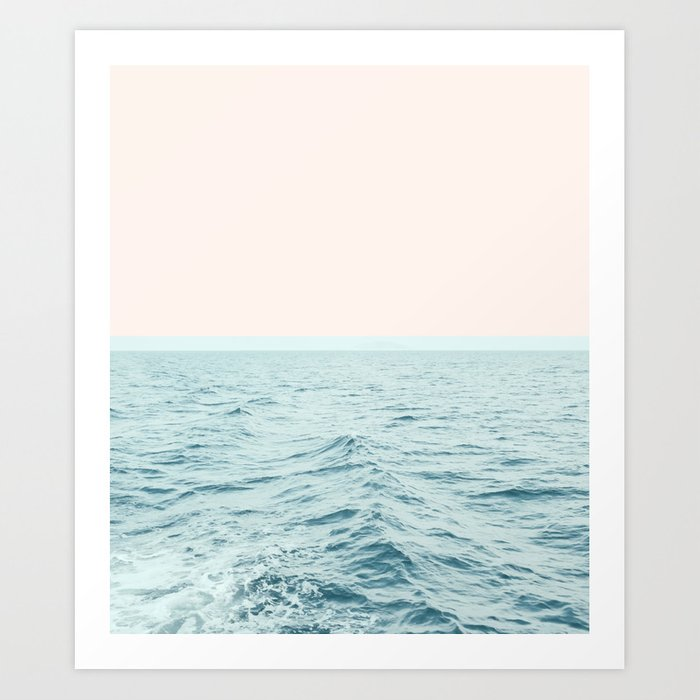 Sunday's Society6 | Sea breeze art print