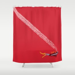 Scuba diving – Embroidered Shower Curtain