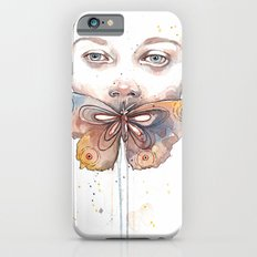 Butterfly, watercolor Slim Case iPhone 6s