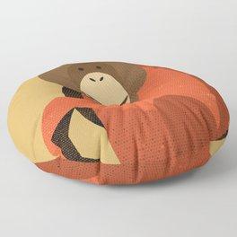 Whimsy Orang Utan Floor Pillow