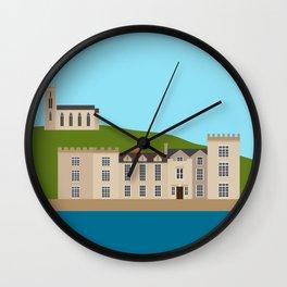 Ireland Castletownshend, County Cork, Castle Wall Clock