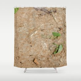 Remains at the Surface II, Killing Fields, Cambodia Shower Curtain