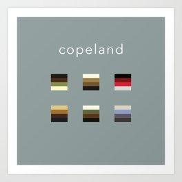 Album Art Series: Copeland Art Print