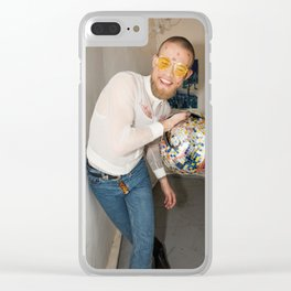 Party Stuff Clear iPhone Case