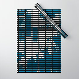 Shutters Grid Wrapping Paper