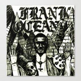 FRNAK OCEAN METAL Canvas Print
