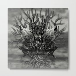 Odin -All-Father Metal Print