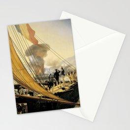 Classical Masterpiece Episode de l'expédition du Mexique en 1838 by Horace Vernet Stationery Cards