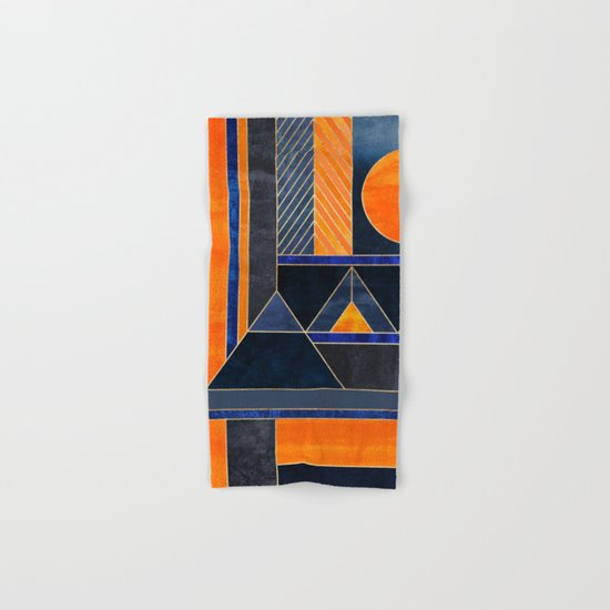 Midnight Sun Hand & Bath Towel