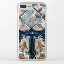 Church window (stained glass) Clear iPhone Case