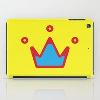 crown iPad Cases featuring CROWN by ^NHRK