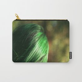 Green Hair Carry-All Pouch