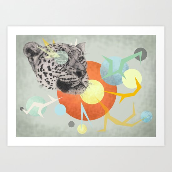 Big cats don't lie #2 Art Print
