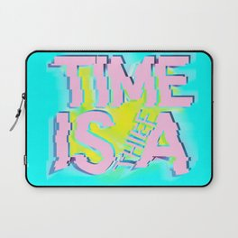 Glitch In Time: Thief Laptop Sleeve