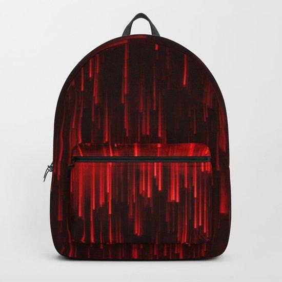 Raining Red Backpack