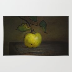 autumn fruit ( quince ) Rug