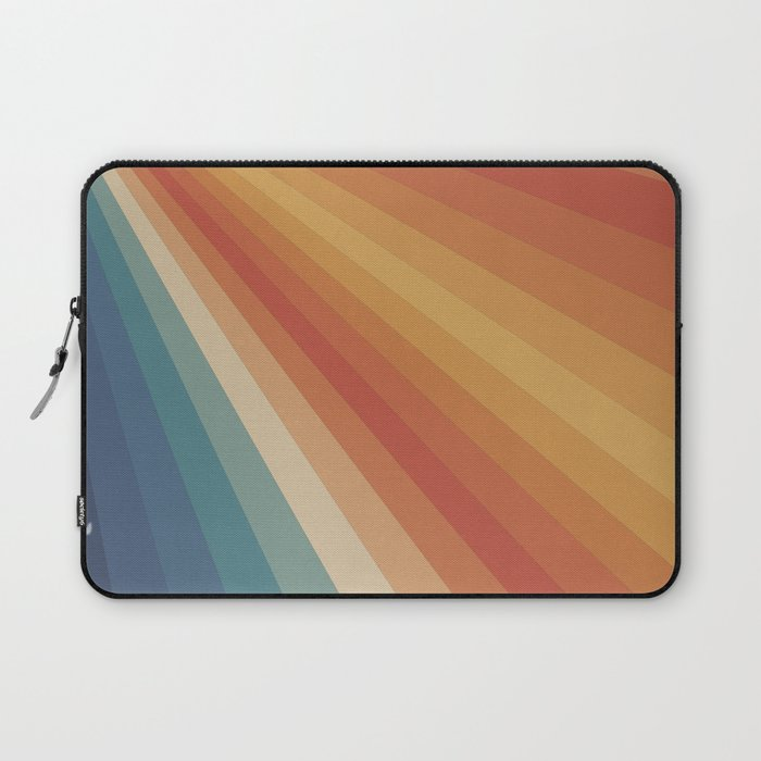 Retro 70s Sunrays Laptop Sleeve