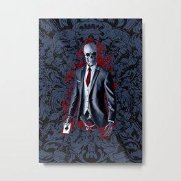 The Gambler Metal Print
