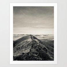 Sky Path Art Print