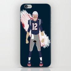 Pats - Tom Brady iPhone & iPod Skin