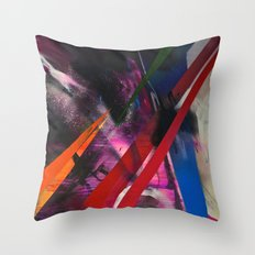 Razor Throw Pillow