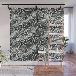 Gray snake skin Wall Mural
