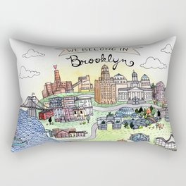 We Belong in Brooklyn Rectangular Pillow