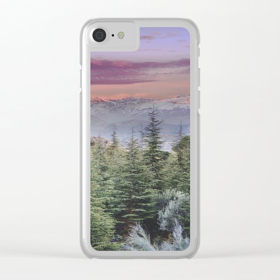 """""""Wildderness III"""". Adventure at the mountains... Clear iPhone Case"""