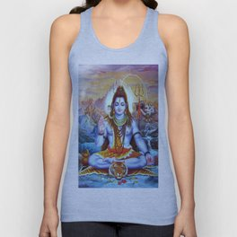 Shiva - Energize your day with his power Unisex Tank Top