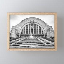 Union Terminal Framed Mini Art Print