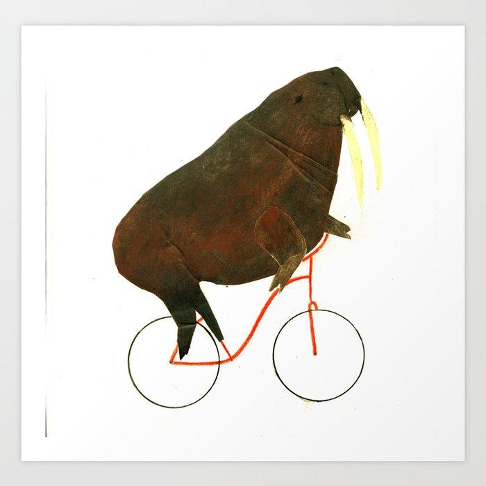 Reason FOUR for using bike: Art Print