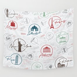 Travel lovers Wall Tapestry