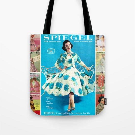 1958 Spring/Summer Spiegel Catalog Tote Bag