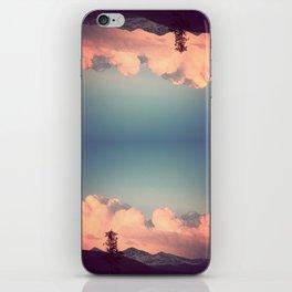 Pink Clouds iPhone Skin