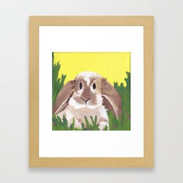 Young Peter Rabbit - Panel 2 Framed Art Print