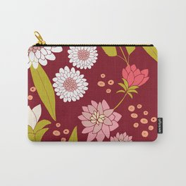 Fiori Rose Carry-All Pouch